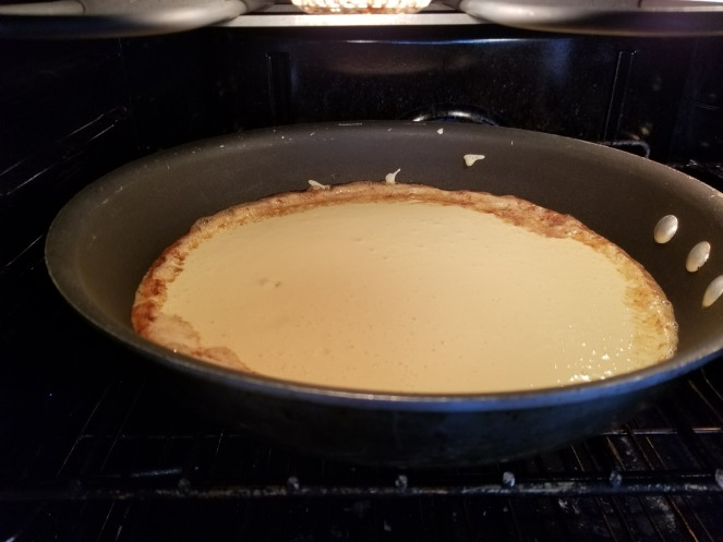 Dutch Pancake In the oven