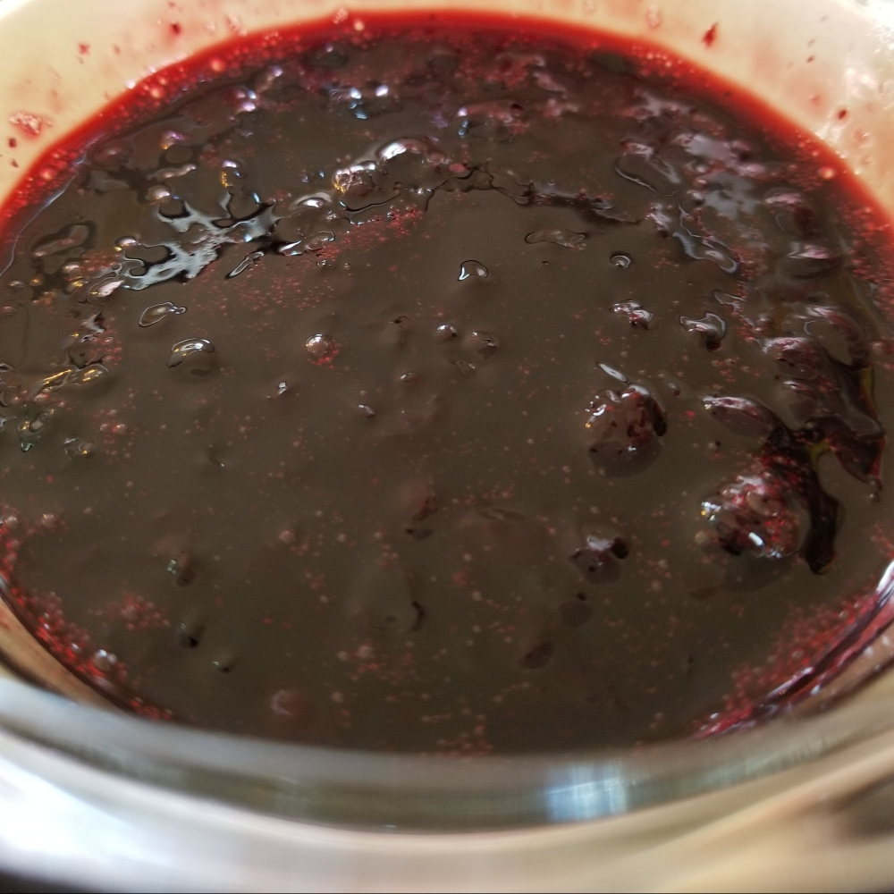 Huckleberry Sauce