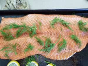 Swedish Salmon with Dill