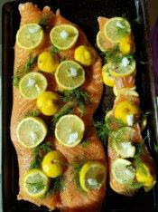 Keto Swedish Salmon