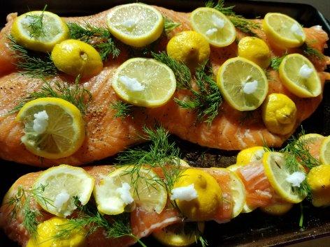 Keto Swedish Dill and Lemon Salmon