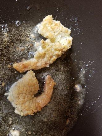 Frying Coconut Shrimp