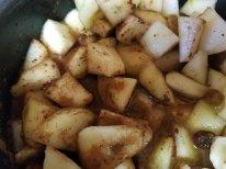 Cooking Cinnamon Pears