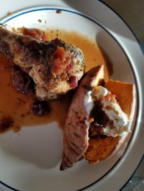 Chicken with Sweet potato