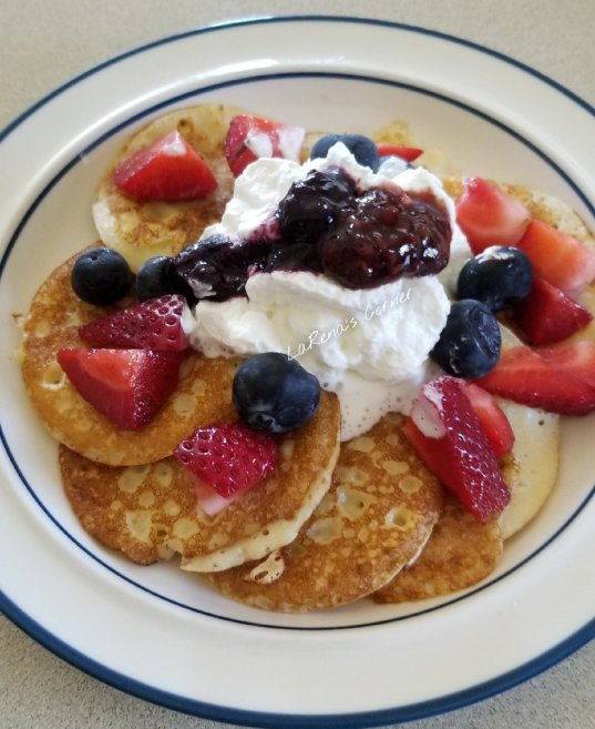Swedish Pancakes Version 2 with dairy
