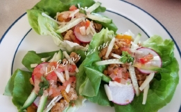 Chicken Taco Lettuce Wraps