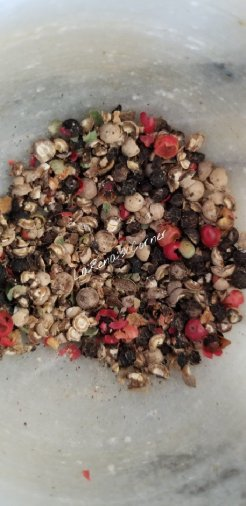 Smashed Peppercorns