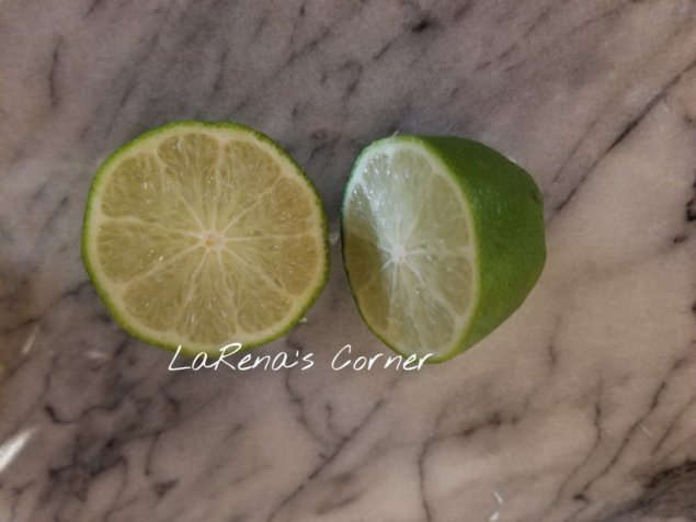 Fresh limes for lime juice