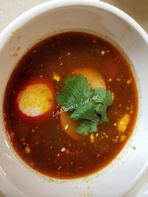 Autumn Linguica Soup
